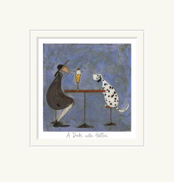 A Date with Hattie - Limited Edition Print by Sam Toft