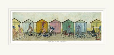 Brighton Naked Bike Ride (Clothes optional) - Limited Edition Print by Sam Toft – image 1