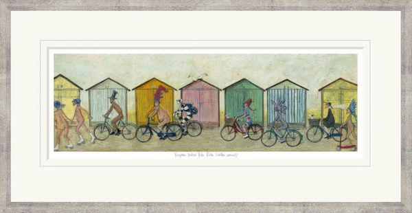 Brighton Naked Bike Ride (Clothes optional) - Limited Edition Print by Sam Toft – image 2