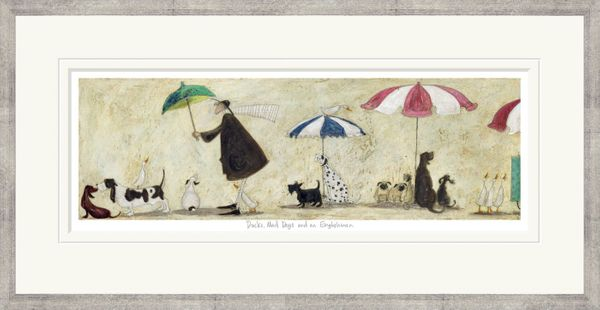 Ducks, Mad Dogs and an Englishman - Limited Edition Print by Sam Toft – image 2