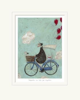Imagination Can Take you Anywhere - Limited Edition Print by Sam Toft – image 2