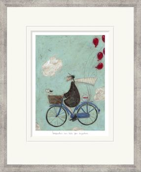Imagination Can Take you Anywhere - Limited Edition Print by Sam Toft – image 1
