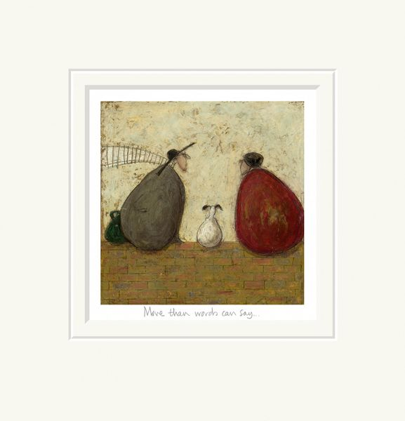 More Than Words Can Say - Limited Edition Print by Sam Toft – image 1