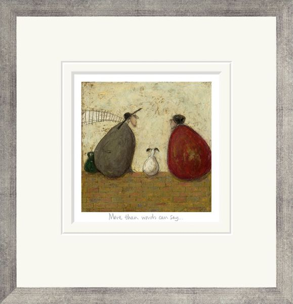 More Than Words Can Say - Limited Edition Print by Sam Toft – image 2