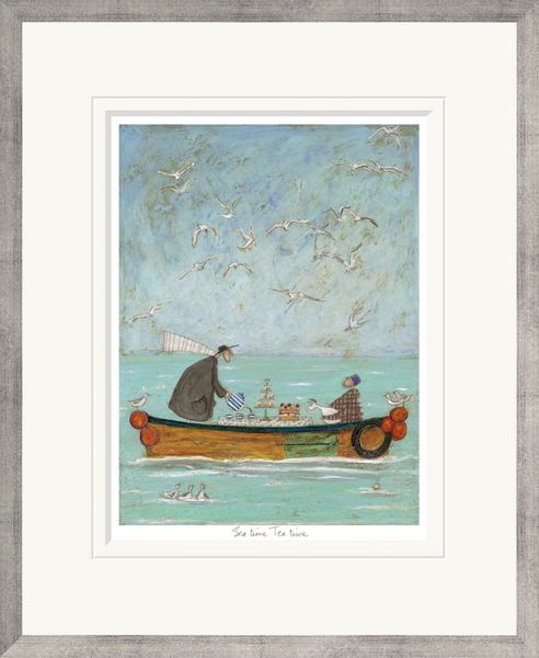 Sea Time Tea Time - Limited Edition Print by Sam Toft – image 2