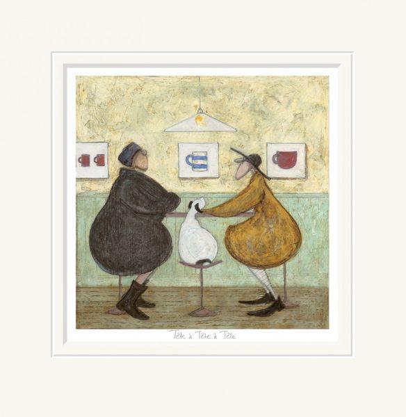 Tête à Tête à Tête - Limited Edition Print by Sam Toft – image 1