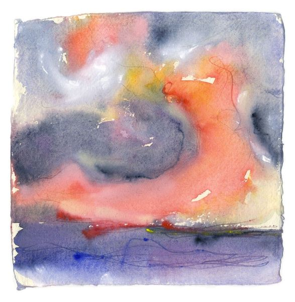 """ Sunset Series "" - V - by Lucy Marks - Limited Edition Print on Fine Art Paper"