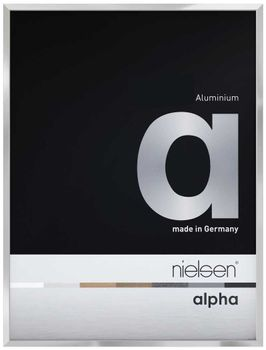 Nielsen Alpha A2 Silver Picture Frame