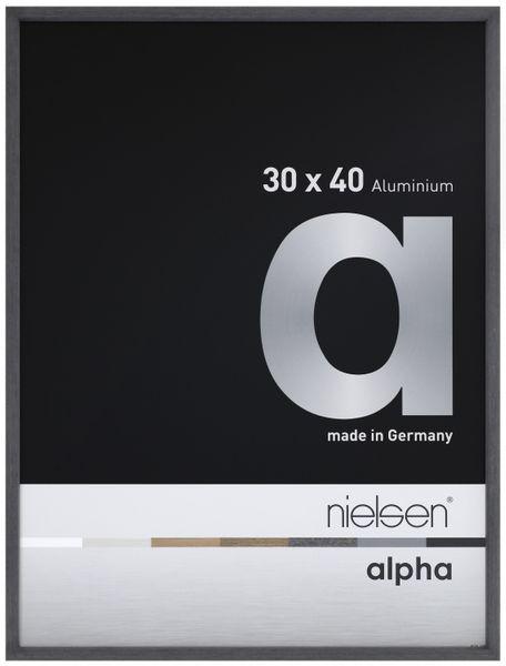 Nielsen Alpha 50x70 cm Black Oak Picture Frame