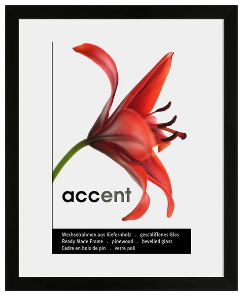 Nielsen Accent Plx A2 Black Picture Frame