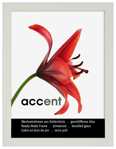 Nielsen Accent A4 White Picture Frame