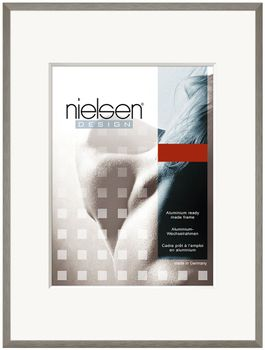 Nielsen C2 21x29 cm A4 Soft Grey Picture Frame