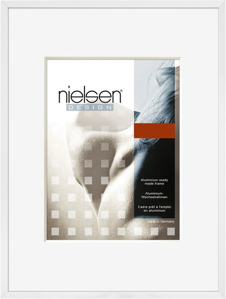 Nielsen C2 A4 Glossy White Picture Frame