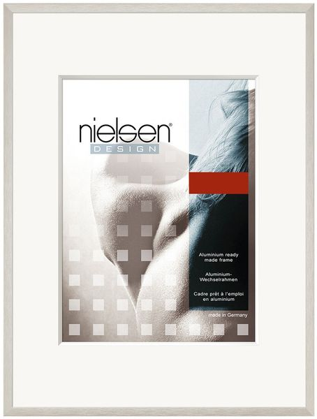 Nielsen C2 A4 Soft Silver Picture Frame
