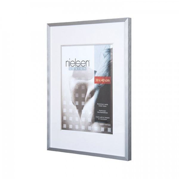 Nielsen C2 A3 Soft Silver Picture Frame