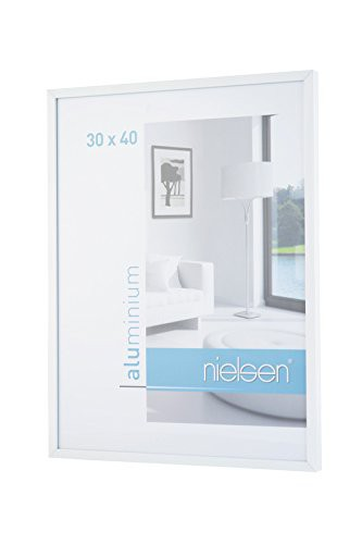 Nielsen C2 30X40 cm Glossy White Picture Frame