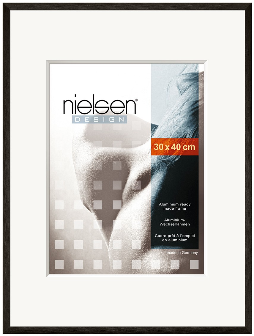 Nielsen C2 A2 Glossy Black Picture Frame Readymade Frames by Size A2 ...