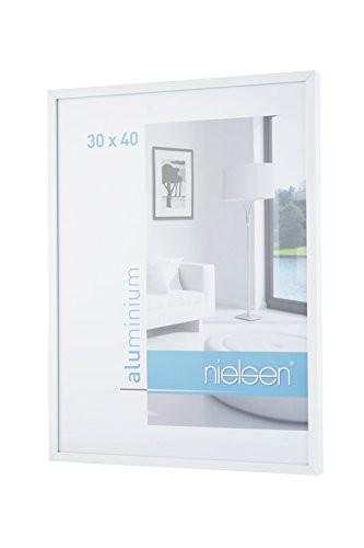 Nielsen C2 50X70 cm Glossy White Picture Frame