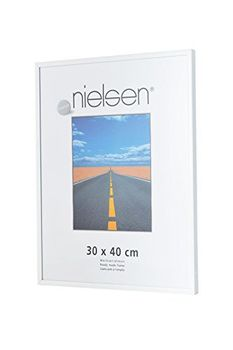 Nielsen Pearl 24x30 cm Glossy White Picture Frame
