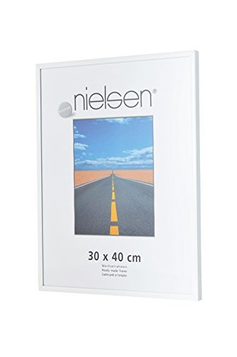 Nielsen Pearl A3 Glossy White Picture Frame