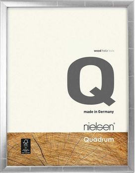 Nielsen Quadrum A4 Silver Anthracite Picture Frame