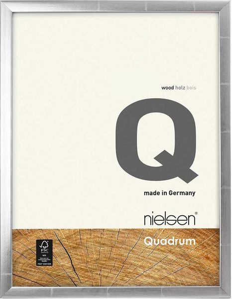 Nielsen Quadrum A3 Silver Anthracite Picture Frame