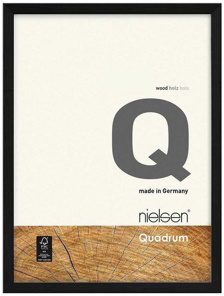Nielsen Quadrum 40X50 cm Black Picture Frame