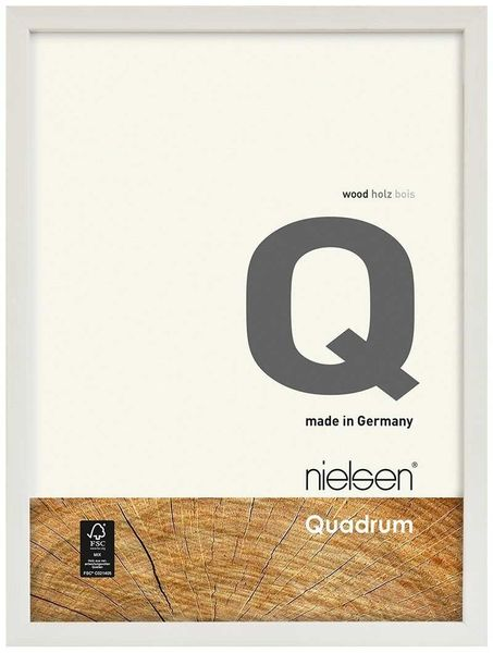 Nielsen Quadrum A2 White Picture Frame