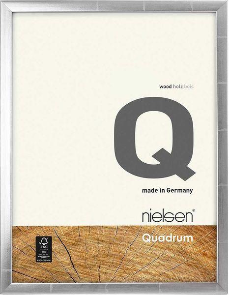 Nielsen Quadrum 50X70 cm Silver Anthracite Picture Frame