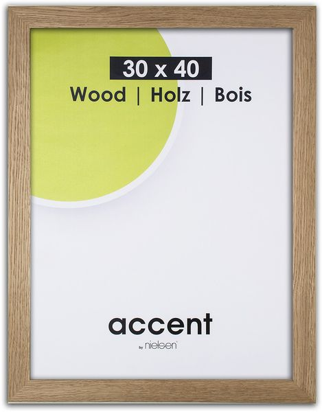 Nielsen Solid Oak 30X40 cm Picture Frame