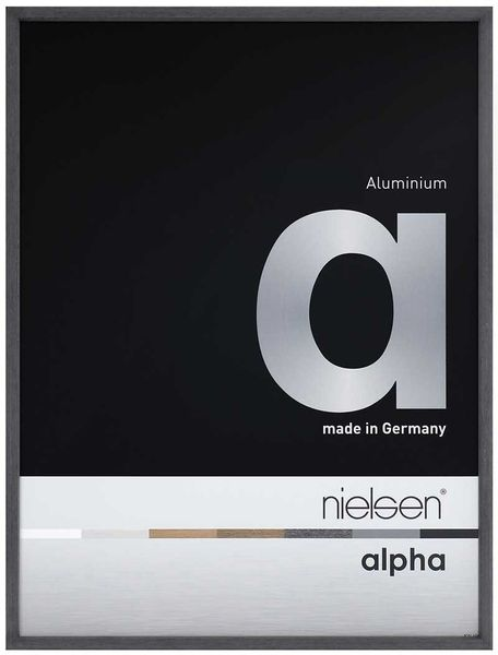 Nielsen Alpha A4 Black Oak Picture Frame