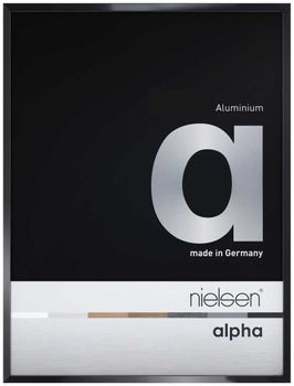 Nielsen Alpha A3 Jet Polished Black Picture Frame