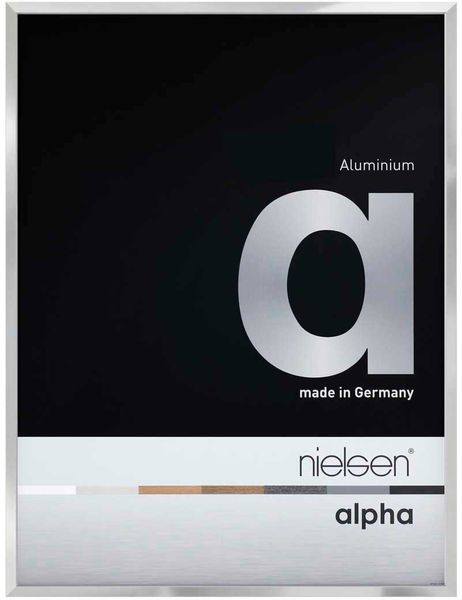 Nielsen Alpha 30X30 cm Silver Picture Frame
