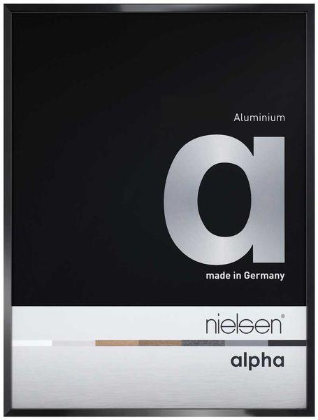 Nielsen Alpha 30X30 cm Jet Polished Black Picture Frame