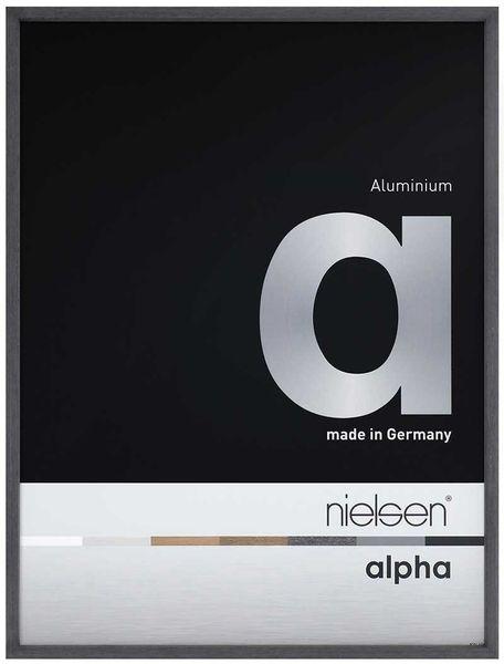 Nielsen Alpha 30x30 cm Black Oak Picture Frame – image 1