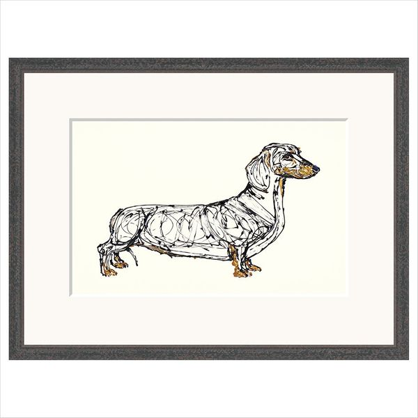 Sasha Sausage  - Limited Edition Print by Becky Mair