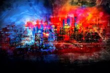 A tale of two cities-Limited Edition Print on Canvas by Neil Hemsley 001