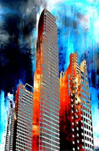 Towers II-Limited Edition Print on Canvas by Neil Hemsley 001