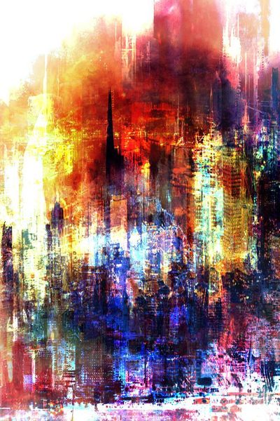 Light-Limited Edition Print on Canvas by Neil Hemsley