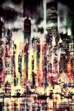 City Nights-Limited Edition Print on Canvas by Neil Hemsley 001
