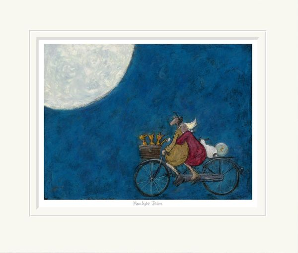 Moonlight Drive - Limited Edition Print by Sam Toft