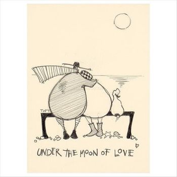 It's Only a Pretty Moon - Limited Edition Print by Sam Toft – image 3