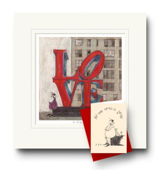 It's All We Need - Limited Edition Print by Sam Toft – image 2