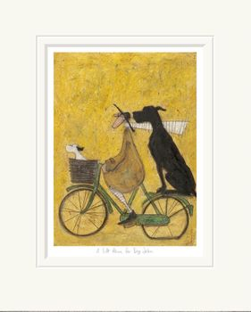 A Lift Home for Big John - Limited Edition Print by Sam Toft – image 1