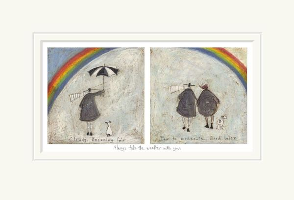 Always Take the Weather with You - Limited Edition Print by Sam Toft