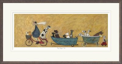 Big Doggie Taxi - Limited Edition Print by Sam Toft – image 2