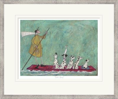 Punts Away! - Limited Edition Print by Sam Toft – image 2