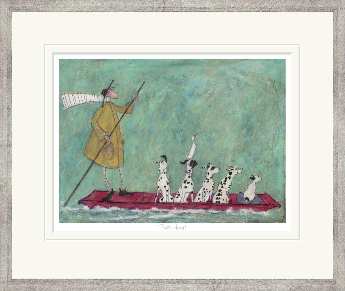 Punts Away Limited Edition Print By Sam Toft Artprints