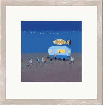 Fish & Chips - Limited Edition print by Jenni Murphy – image 1