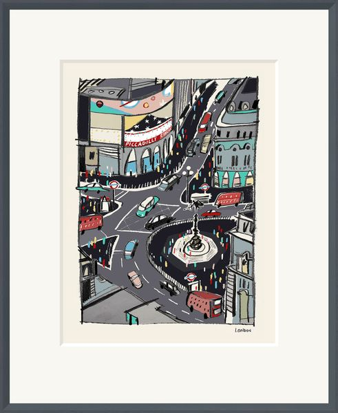 London - Limited Edition print by Anna Hymas – image 1